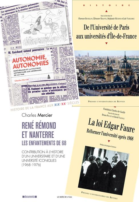 Cover der besprochenen Titel. Fotos und Rechte: Bord de l'eau, PUS, PUR.