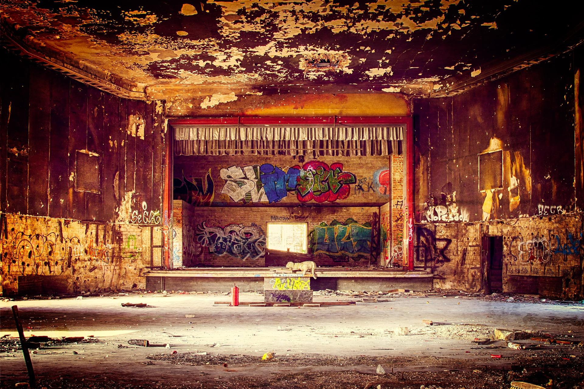Verlassenes Theater (Quelle: Pixabay/ Tama66)