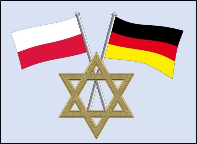 Collage Jüdisches Leben in Polen und Deutschland (Quelle: Pixabay/Commongt/Tatutati)