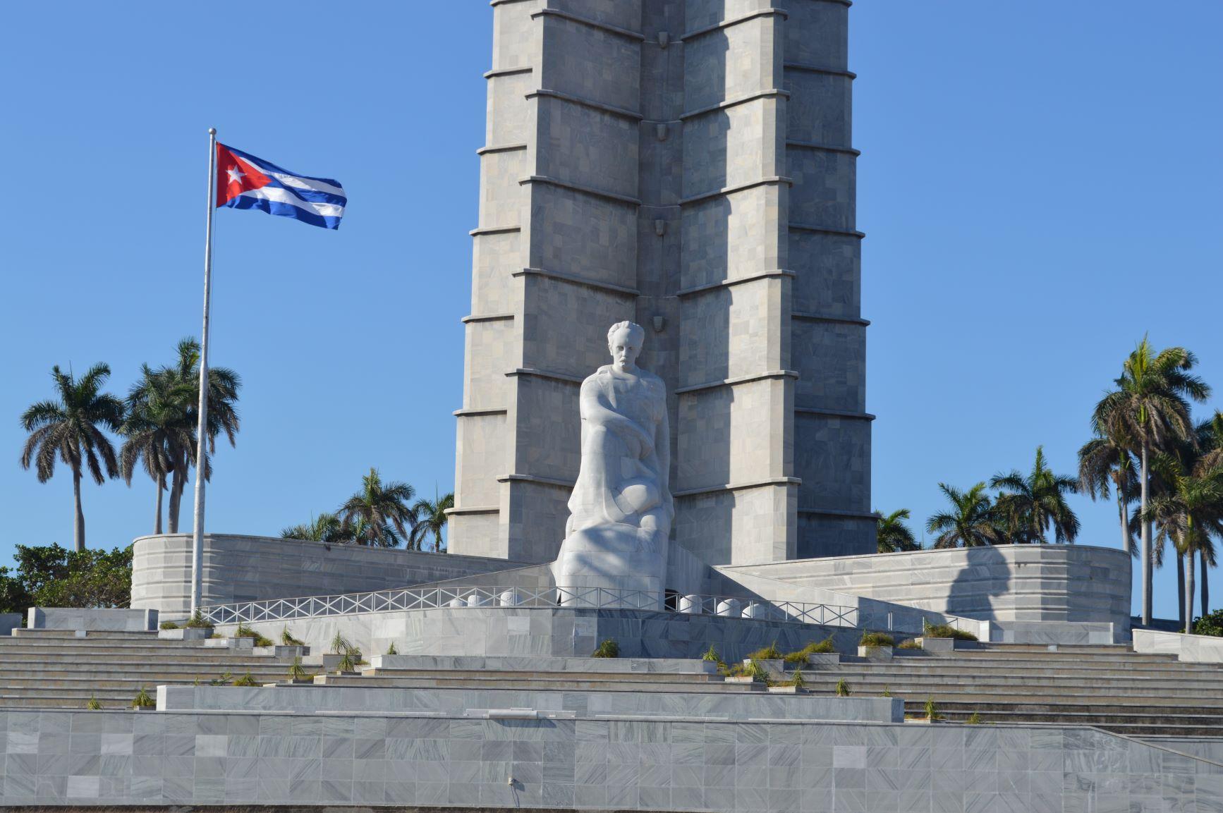 José-Martí-Denkmal am Plaza de la Revolución in Havanna (© Bauerschmidt)